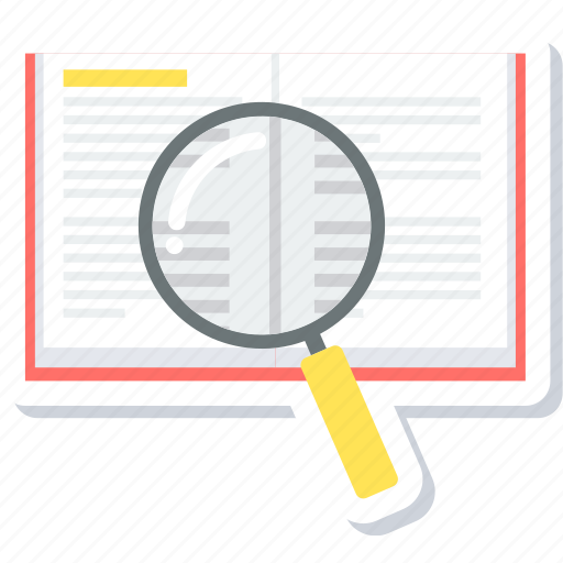 find, glass, magnifier, magnify, magnifying, search, zoom icon
