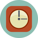 alarm, clock, hour, time, waker icon