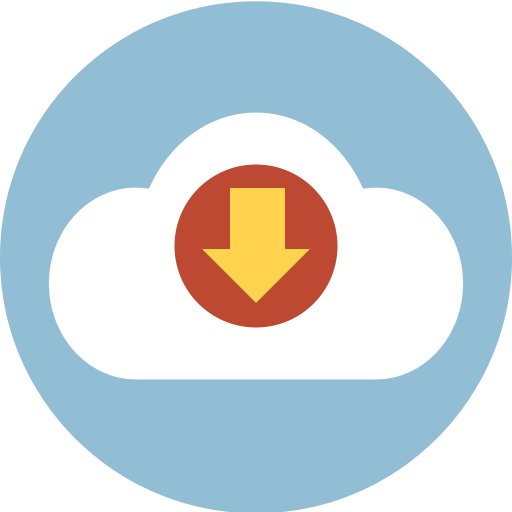 cloud, download, online, sync icon