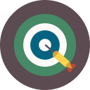 dart, game, target icon