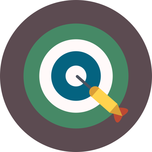 dart, game, target icon
