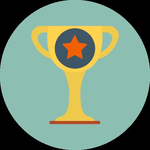 achievement, champion, trophy icon
