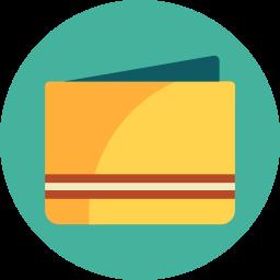 case, wallet icon