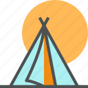 adventure, camp, camping, hiking, nature icon