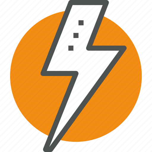 battery, electricity, industry, light, power icon