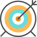 arrow, dartboard, game, goal, pointer, target icon