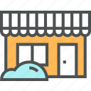 business, house, office, shop, shopping icon