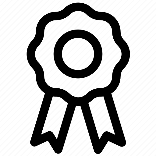 award, ⦁ badge, ⦁ ribbon, ⦁ winicon icon