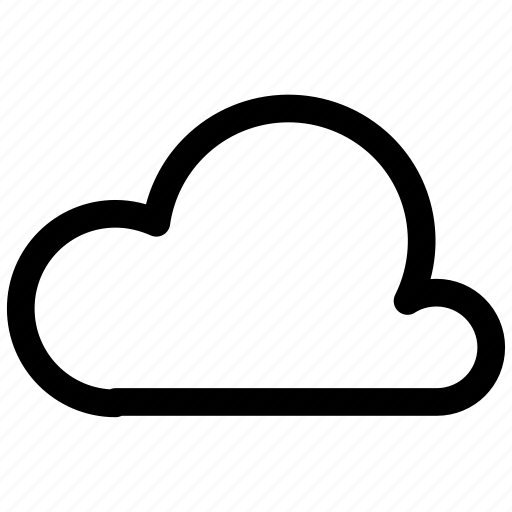 cloud, ⦁ weather icon icon