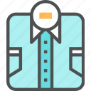 business, clothes, formal, man, shirt icon