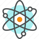 atom, chemistry, lab, molecule, research, science icon