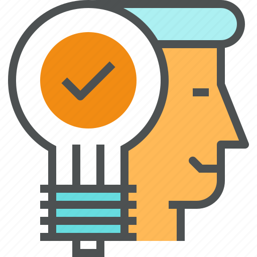 business, idea, management, office, solution icon