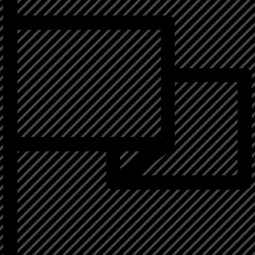 begining, ⦁ flag, ⦁ starticon icon