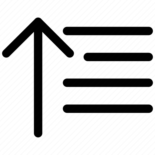 filter, ⦁ sort, ⦁ sort ascending, ⦁ sort list, ⦁ sortingicon icon