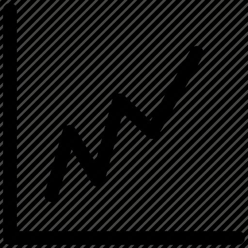 analytics, ⦁ chart, ⦁ graph, ⦁ lineicon icon