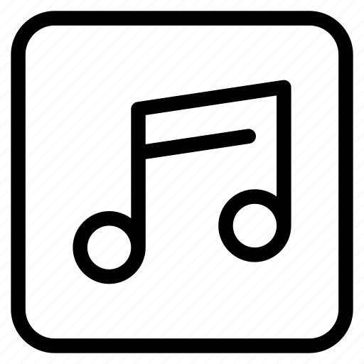audio, media, music, player, social, song, sound icon