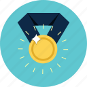 award, medal, prize, reward, success, victory, winner icon