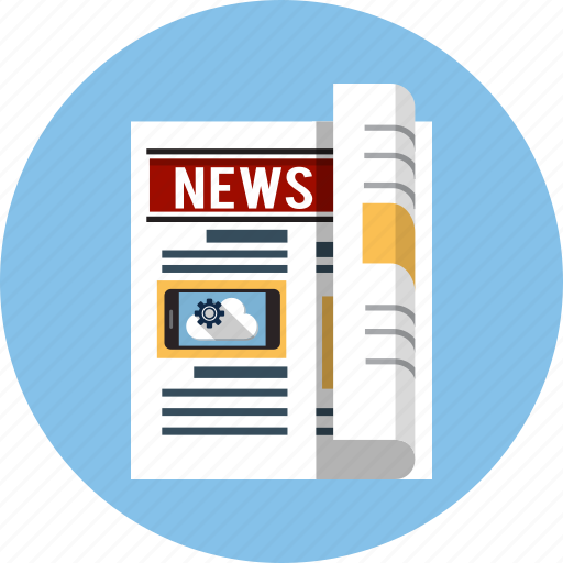 article, breaking news, newspapers, press, publication icon