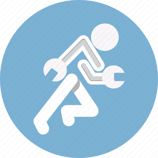 configuration, repair, service, tools, wrench icon