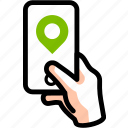 find, geotag, gps, location, map, pin, place icon