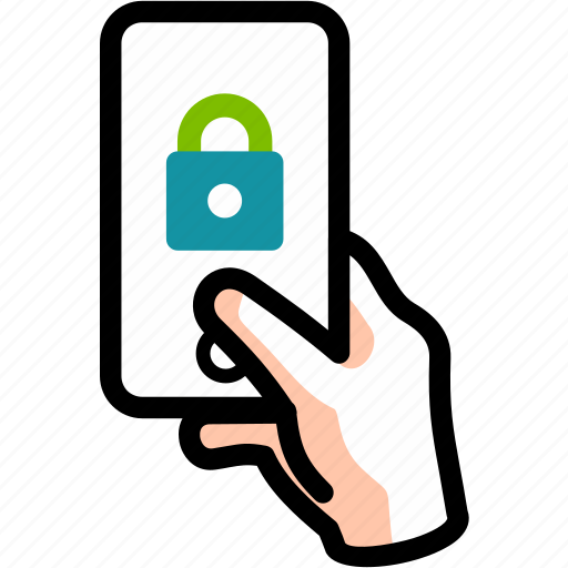 closed, identify, locked, protected, secure icon