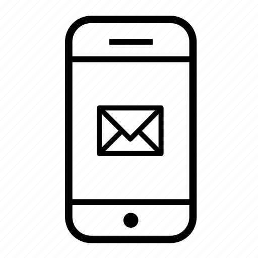 email, mobile, mobile email, mobile phone, phone icon