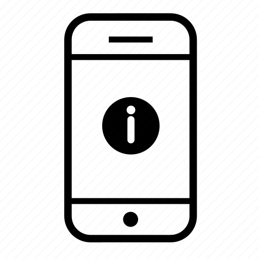 cell phone, info, information, mobile, mobile phone, phone icon