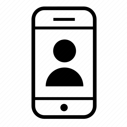 cell phone, mobile, mobile phone, phone, user icon