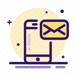 conversation, email, mail, mobile, phone icon