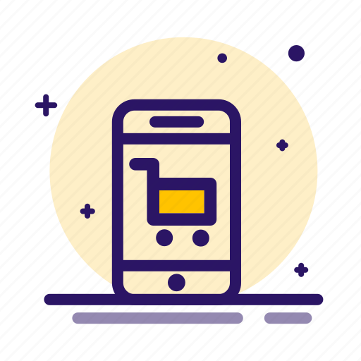 Ecommerce, mobile, online, phone, shopping icon - Download on Iconfinder