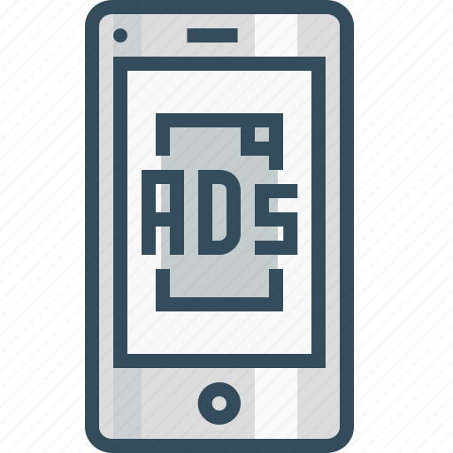 ads, advertising, centertopage, commercial, marketing, mobile, popup icon