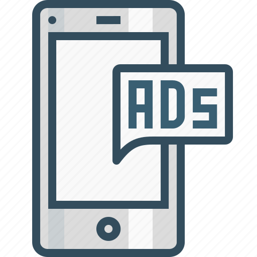 ads, advertising, chatad, commercial, marketing, mobile, popup icon