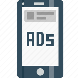 advertising, commercial, companionads, discriptive, imagebasedad, marketing, mobileads icon