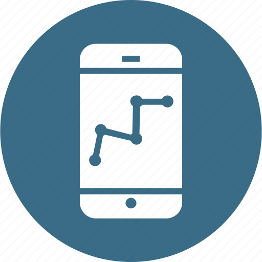 Analysis, graph, marketing, mobile, performance, seo, analytics icon - Download on Iconfinder