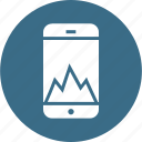 analysis, graph, marketing, mobile, performance, seo, analytics icon