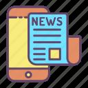online, news, paper