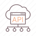 api, integration, programming icon