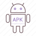 android, apk, robot