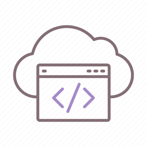 Cloud, coding, programming icon - Download on Iconfinder