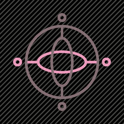 device, gyroscope, velocity icon
