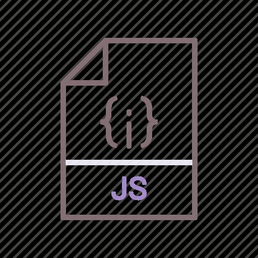 javascript, js, mobile, programming icon