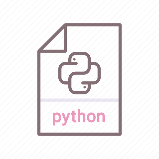 mobile, programming, python icon