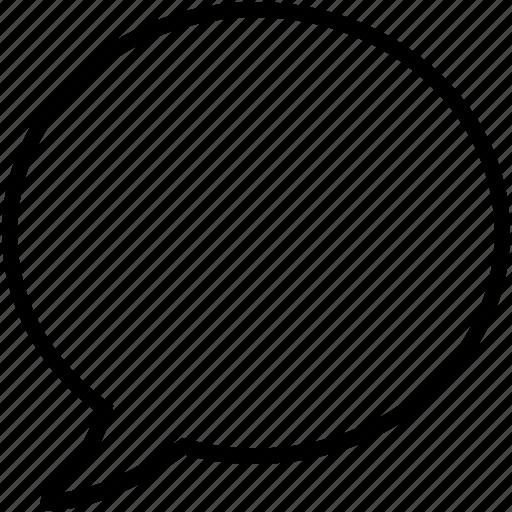 application, bubble, chat, message, mobile, speech, talk icon