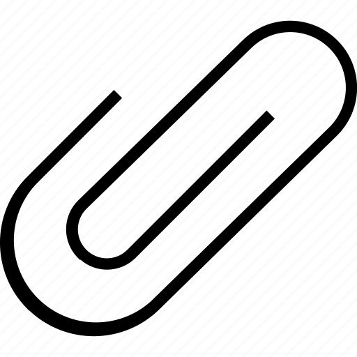 application, attachment, document, file, mobile, paper, paperclip icon