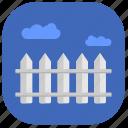 border, construction, cottage, village icon