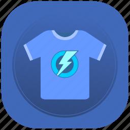 modern, shock, tshirt, wear icon