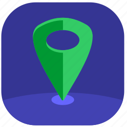 geo, location, map, point, pointer icon