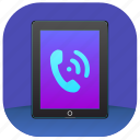 call, dial, ipad, talk icon