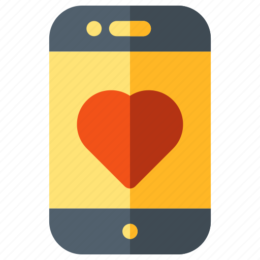 health, heart, love, medical, mobile icon