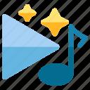 audio, music, sound, star, studio, tone icon